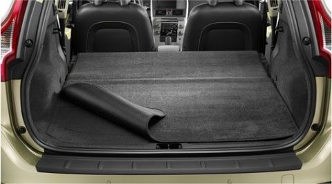 XC60 (1st gen) Reversible/folding textile load compartment mat